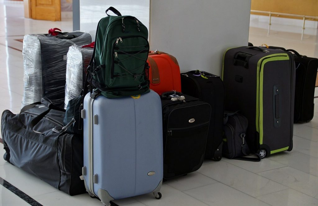 Luggages for shifting home